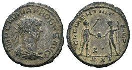 Probus Æ Silvered Antoninianus, AD 276-282.  Condition: Very Fine  Weight:3.42 gr  Diameter: 22 mm