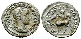 Gordian III AR Silver. Rome, AD 241-243. Condition: Very Fine  Weight: 2,88 gr Diameter: 19,35 mm