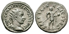 Gordian III AR Silver. Rome, AD 241-243. Condition: Very Fine  Weight: 4,87 gr Diameter: 22,00 mm