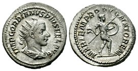 Gordian III AR Silver. Rome, AD 241-243. Condition: Very Fine  Weight: 5,34 gr Diameter: 22,95 mm