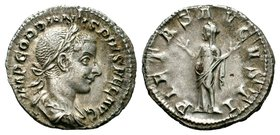 Gordian III AR Silver. Rome, AD 241-243. Condition: Very Fine  Weight: 2,70 gr Diameter: 19,05 mm