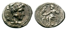 KINGS of MACEDON. Alexander III 'the Great'. 336-323 BC. AR Drachm  Condition: Very Fine  Weight: 2.00 gr Diameter: 14.38 mm
