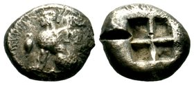 Islands off Ionia, Chios. Chios. Ca. 400-380 BC. AR hemidrachm   Condition: Very Fine  Weight: 7.76 gr Diameter: 18.10 mm