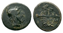 Pontus. Amisos 120-63 BC. AE bronze  Condition: Very Fine  Weight: 3.50 gr  Diameter:16.34 gr