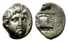 ISLANDS OFF CARIA, Rhodos. Rhodes. Circa 188-170 BC. Drachm  Condition: Very Fine  Weight: 1.09 gr Diameter: 11.97 mm