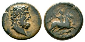 Pisidia. Isinda 100 BC. AE bronze  Condition: Very Fine  Weight: 4.71 gr Diameter: 19.04 mm