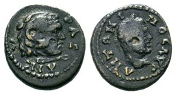 Phrygia, Ancyra. Caracalla, AD 198-217 Condition: Very Fine  Weight: 1.68gr Diameter:15mm
