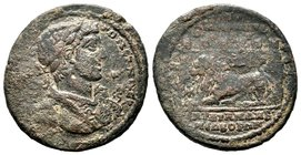 Lydia, Sardis. Elagabalus, AD 218-222 Condition: Very Fine  Weight: 12.49gr Diameter:32mm
