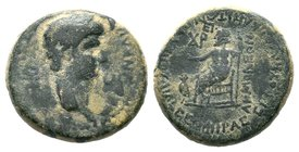 Phrygia, Acmoneia. Nero, AD 54-68 Condition: Very Fine  Weight: 4.85gr Diameter:18mm