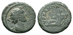 Lydia, Hyranis. Pseudo-autonomous issue, ca. AD 100-150 Condition: Very Fine  Weight: 3.14gr Diameter:17mm