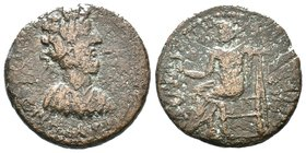 CILICIA, Augusta. Commodus. AD 177-192. Æ  Condition: Very Fine  Weight: 11.46gr Diameter:26mm