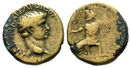 Phrygia, Synnada. Nero, AD 54-68 Condition: Very Fine  Weight: 3.95gr Diameter:19mm