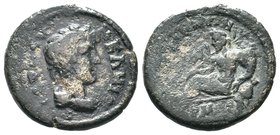 Lydia, Tripolis(?). Pseudo-autonomous issue, 2nd-3rd centuries AD Condition: Very Fine  Weight: 7.81gr Diameter:24mm