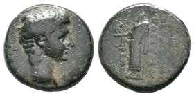 PHRYGIA. Laodicea ad Lycum. Augustus. 27 B.C.-A.D. 14 AE  Condition: Very Fine  Weight: 5.74gr Diameter:19mm