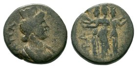Phrygia, Apameia. Pseudo-autonomous issue, 2nd century AD Condition: Very Fine  Weight: 2.74gr Diameter:14mm