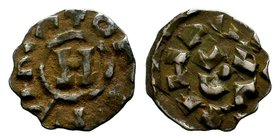 Crusader States, Principality of Antioch. Ar Lucca, A.D. 1104-1112.  Condition: Very Fine  Weight: 1.17 gr Diameter: 16 mm