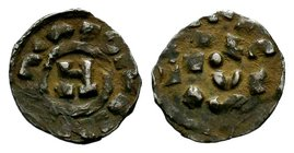 Crusader States, Principality of Antioch. Ar Lucca, A.D. 1104-1112.  Condition: Very Fine  Weight: 1.17 gr Diameter: 17 mm