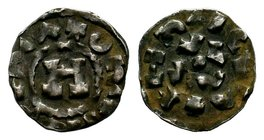 Crusader States, Principality of Antioch. Ar Lucca, A.D. 1104-1112.  Condition: Very Fine  Weight: 0.97 gr Diameter: 16.44 mm