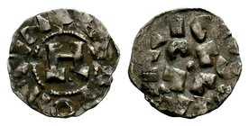 Crusader States, Principality of Antioch. Ar Lucca, A.D. 1104-1112.  Condition: Very Fine  Weight: 1.00 gr Diameter: 16 mm