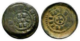 CRUSADERS, Lucca 1149-1163. AR   Condition: Very Fine  Weight: 1.04 gr Diameter: 17 mm