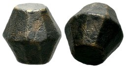 Byzantine Bronze Weight,  Condition: Very Fine  Weight: 28.38 gr Diameter: 17.86 mm