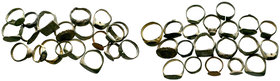 20x Ancient Rings  Condition: Very Fine  Weight: LOT Diameter: