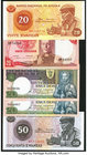 Ten Assorted Notes from Angola. Crisp Uncirculated.   HID09801242017
