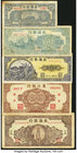 Five Provincial Bank Notes from China. Fine or Better.   HID09801242017