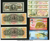 A Variety of Notes from Costa Rica. Crisp Uncirculated.   HID09801242017