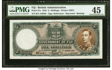 Fiji Government of Fiji 5 Shillings 1.1.1942 Pick 37e PMG Choice Extremely Fine 45.   HID09801242017