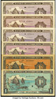A Colorful Assortment of 1 Piastres Issues from French Indochina. Very Fine or Better.   HID09801242017
