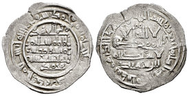 Caliphate. Sulayman. Dirham. 404 H. Al Andalus. (Vives-716). Ag. 3,01 g. Very rare. Choice VF. Est...175,00.