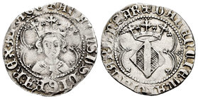The Crown of Aragon. Alfonso I (1109-1126). 1 real. Valencia. (Cru-2907). Anv.: +ALFONSUS:DI:GRA:REX:ARAGO. Rev.: +VALENCIE:MAIORICARUM:SAR. Ag. 2,92 ...