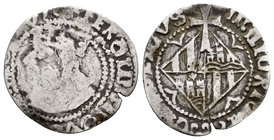 The Crown of Aragon. Ferdinand II. 1 real. Mallorca. Ag. 1,58 g. Scarce. Almost F/Choice F. Est...45,00.
