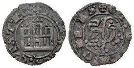Kingdom of Castille and Leon. Alfonso X (1252-1284). Maravedí prieto. Sin marca de ceca. (Bautista-389). Ve. 0,61 g. Choice VF. Est...30,00.