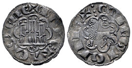 Kingdom of Castille and Leon. Alfonso X (1252-1284). Novén. Burgos. (Bautista-427). Ve. 0,79 g. Con B debajo del castillo. Choice VF. Est...35,00.