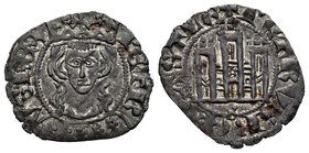 Kingdom of Castille and Leon. Pedro I (1350-1368). Cornado. Burgos. (Bautista-547). Ve. 0,69 g. Con B bajo el castillo. Choice VF. Est...40,00.