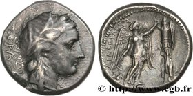 SICILY - SYRACUSE Type : Tétradrachme  Date : c. 305-295 AC.  Mint name / Town : Syracuse, Sicile ou Afrique  Metal : silver  Diameter : 24,5  mm Orie...