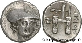 THRACE - AINOS Type : Drachme  Date : c. 357-342 AC.  Mint name / Town : Aenos (Ainos), Thrace  Metal : silver  Diameter : 16  mm Orientation dies : 1...