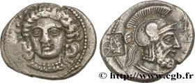 CILICIA - TARSUS - DATAMES SATRAP Type : Statère  Date : c. 373-368 AC.  Mint name / Town : Tarse, Cilicie  Metal : silver  Diameter : 21  mm Orientat...