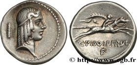 CALPURNIA Type : Denier  Date : 67 AC.  Mint name / Town : Rome  Metal : silver  Millesimal fineness : 950  ‰ Diameter : 17,5  mm Orientation dies : 5...