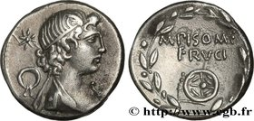 CALPURNIA Type : Denier  Date : 61 AC.  Mint name / Town : Rome  Metal : silver  Millesimal fineness : 950  ‰ Diameter : 16,5  mm Orientation dies : 6...