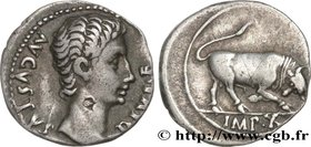 AUGUSTUS Type : Denier  Date : 15 AC.  Mint name / Town : Lyon  Metal : silver  Millesimal fineness : 950  ‰ Diameter : 18,5  mm Orientation dies : 6 ...