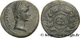 AUGUSTUS Type : As  Date : c. 25 AC.  Mint name / Town : Asie, atelier incertain  Metal : copper  Diameter : 27  mm Orientation dies : 12  h. Weight :...