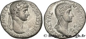 NERO and AGRIPPINA Type : Tétradrachme syro-phénicien  Date : 56-57  Mint name / Town : Antioche, Syrie, Séleucie et Piérie  Metal : silver  Diameter ...