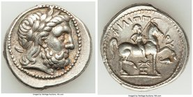 MACEDONIAN KINGDOM. Philip II (359-336 BC). AR tetradrachm (26mm, 14.20 gm, 5h). VF, light scratches. Posthumous issue of Amphipolis, ca. 315-295 BC. ...