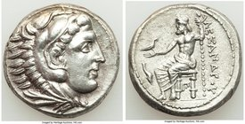 MACEDONIAN KINGDOM. Alexander III the Great (336-323 BC). AR tetradrachm (24mm, 17.11 gm, 2h). XF. Posthumous issue of 'Amphipolis', ca. 320-317 BC. H...
