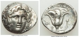 CARIAN ISLANDS. Rhodes. Ca. 275-250 BC. AR didrachm (19mm, 6.67 gm, 12h). Choice VF. Aristonomos, magistrate. Head of Helios facing, turned slightly r...