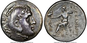 LYCIA. Phaselis. Ca. 218-185 BC. AR tetradrachm (30mm, 12h). NGC Choice VF, light marks. In the name and types of Alexander III the Great of Macedon, ...
