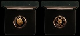 Five Pound Crown 2002 Queen Mother Memorial Gold Proof S.L11 FDC in the Royal Mint box of issue with certificate